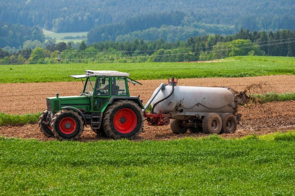 nawożenie gnojowica
